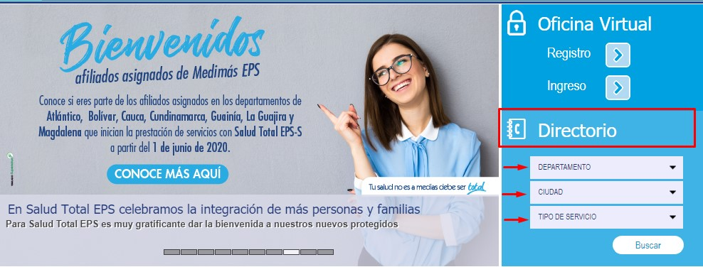 salud total formulario de afiliacion empresa