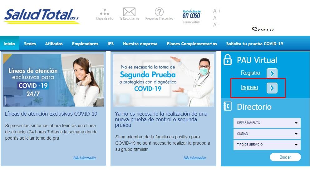 salud total citas medicas telefono